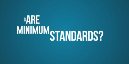 Minimum Standards